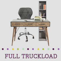 Truckload of Upholstery, Vanities, Bedroom & Educational Furniture & More, 96 Units, Retail $39,441, B/C Condition, Load LL10403 CA, Perris, CA