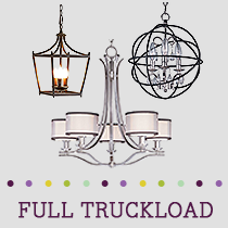 Truckload of Pendant Lights, Table Lamps & More Lighting, 445 Units, Retail $60,264, B/C Condition, Load LL6825 LIGHTING H, Hebron, KY