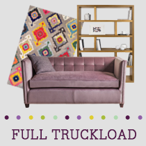 Truckload of Upholstery, Outdoor Décor, Kitchen & Dining Furniture & More, 39 Units, Retail $31,681, B/C Condition, Load LL6639 NJ, Cranbury, NJ