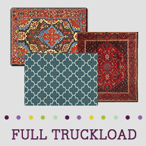 Truckload of Area Rugs, 618 Units, Retail $77,783, B/C Condition, Load LL6854 RUGS E, Erlanger, KY
